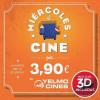 Entradas de cine por sólo 3,90 euros