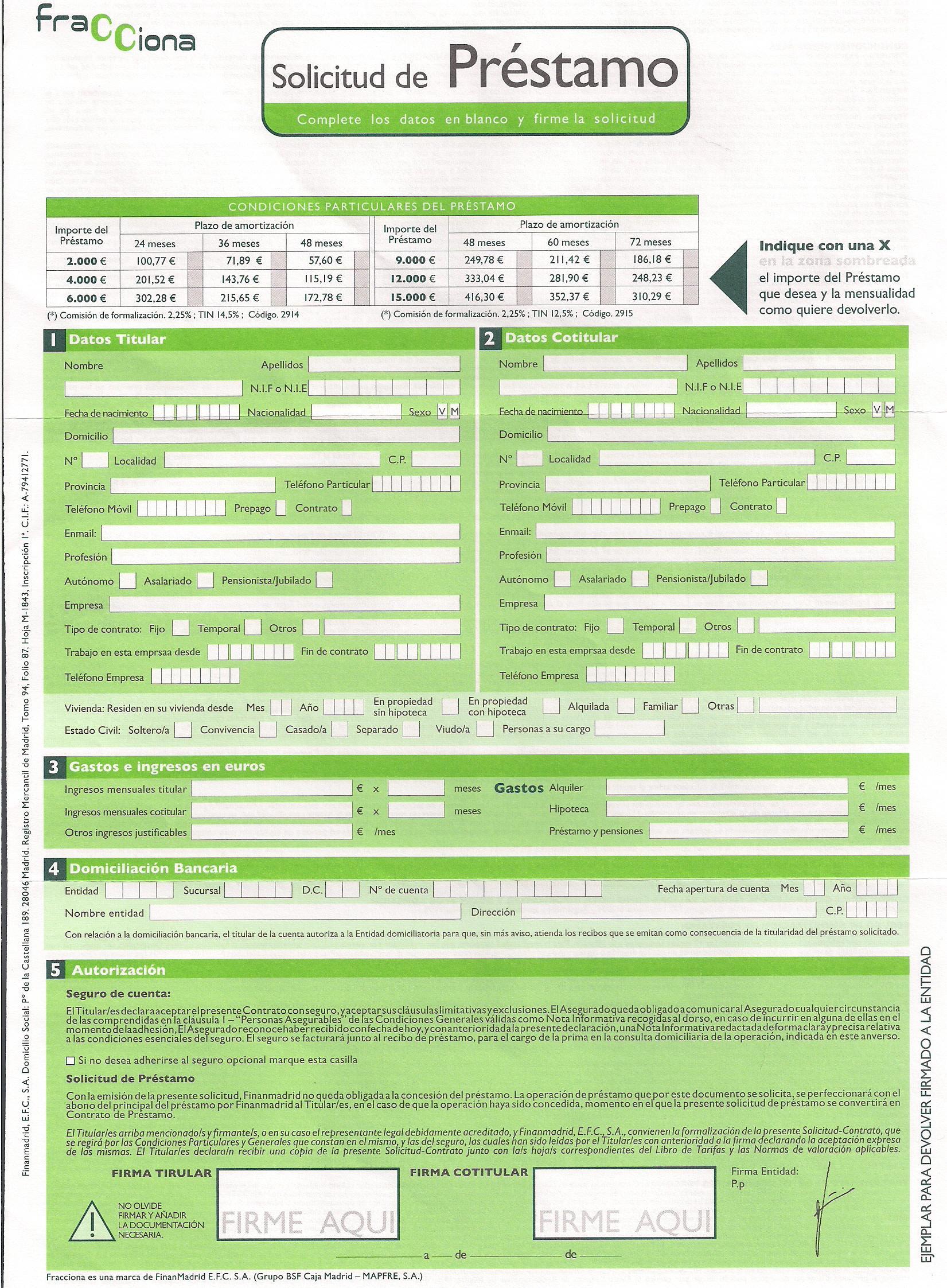 creditos rapidos online con asnef