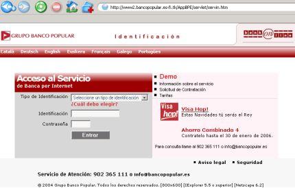 banca por internet del banco popular precauciones blog de opcionis