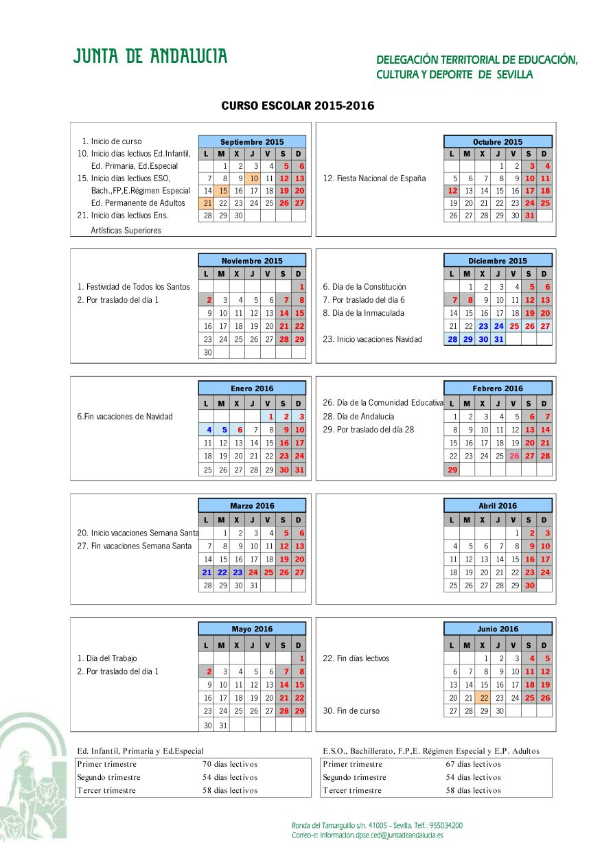 Calendario Laboral 2019 Sevilla Blog De Opcionis
