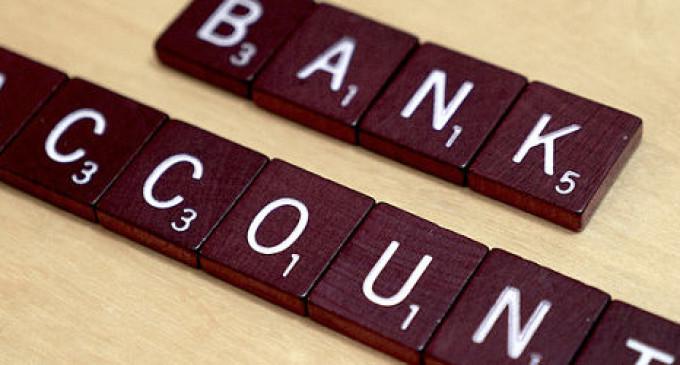 cuántas cuentas bancarias