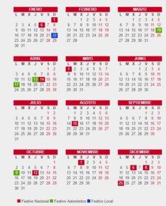 Calendario Laboral De Valencia.Calendario Laboral 2019 Valencia Blog De Opcionis