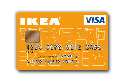 tarjetas de fidelizaci n tarjeta visa ikea On carte de crédit ikea business