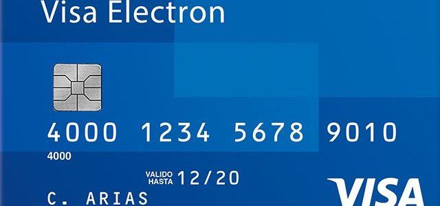 Tarjeta VISA Electrón