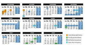 Calendario Escolar Comunidad De Madrid El Blog