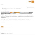 Cómo hacer una carta de dimisión - ejemplos