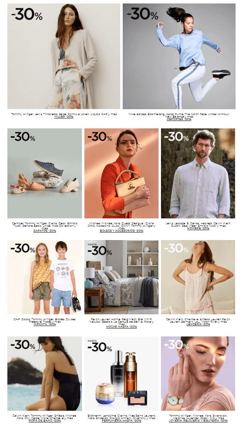 promociones moda el corte ingles