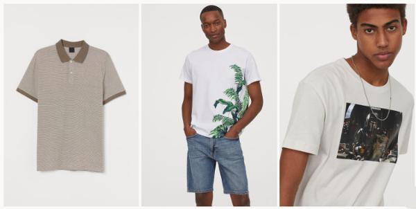 rebajas hym verano 2021 polos y camisetas hombre