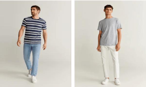 rebajas mango verano 2021 hombre camisetas