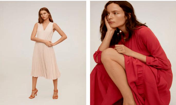 rebajas mango verano 2021 vestidos