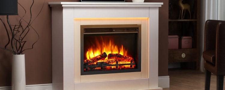 Las mejores chimeneas eléctricas para comprar Chimenea eléctrica Castleton Suite