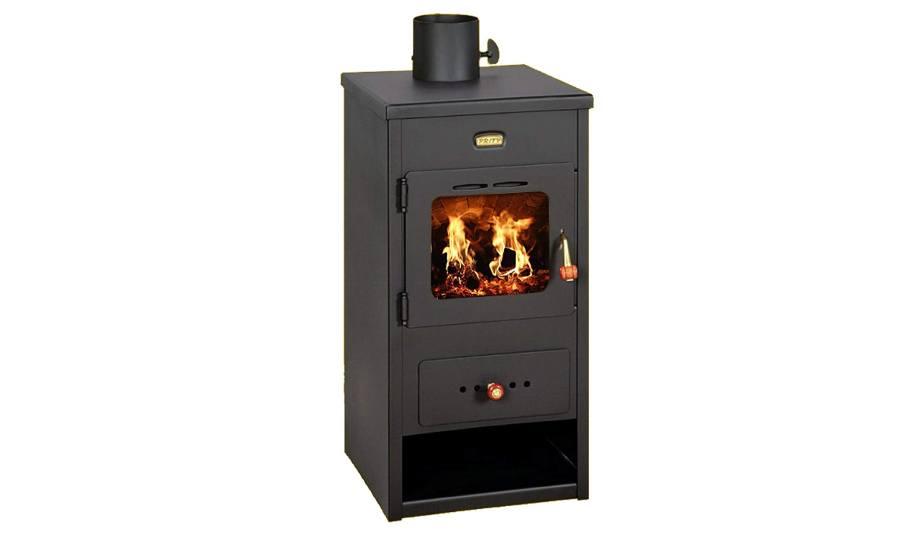 Mejores estufas de leña para comprar Estufa de leña dePrity con quemador multicombustible