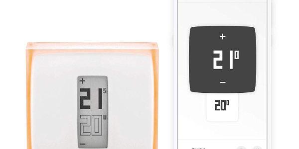 Mejor domotica para calentar el hogar en Invierno 2019 Termostato Wifi Netatmo