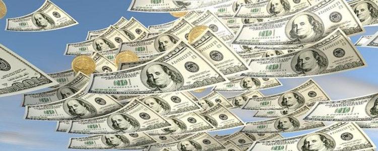 helicoptero de dinero